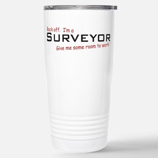 I'm a Surveyor Stainless Steel Travel Mug
