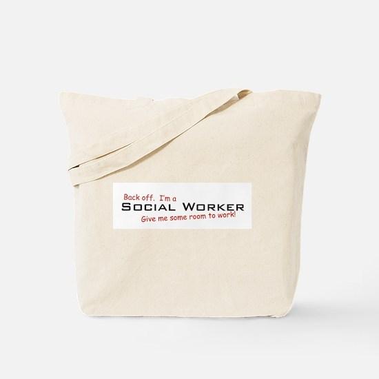 I'm a Social Worker Tote Bag