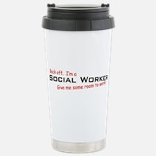 I'm a Social Worker Stainless Steel Travel Mug