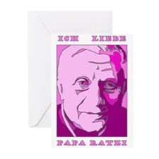 Papa Ratzi New Pope Benedict Greeting Cards (Pack