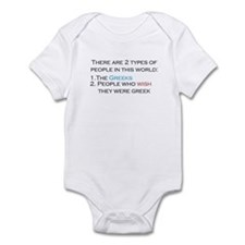Types Of People Infant Bodysuit