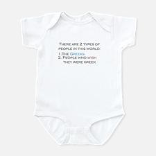 Types Of People Infant Bodysuit