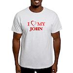 Heart Disease Awareness Fitted T-Shirt