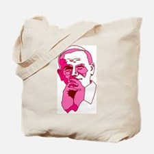 Pope John Paul II Pink Design Tote Bag