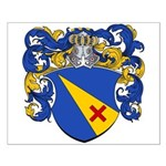 Van Campen Coat of Arms Small Poster