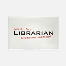 I'm a Librarian Rectangle Magnet