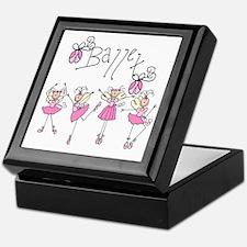 Ballet Keepsake Box