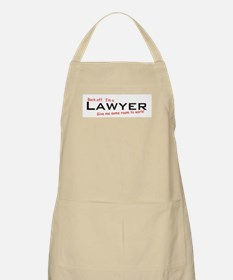 I'm a Lawyer BBQ Apron