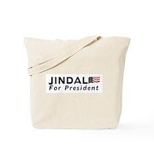 Jindal for President 2012 Tote Bag