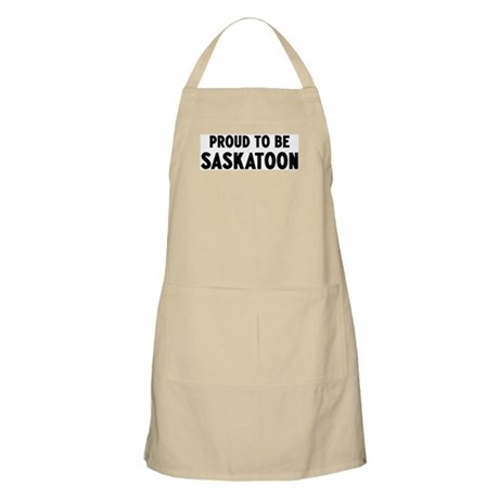 Proud to be Saskatoon BBQ Apron