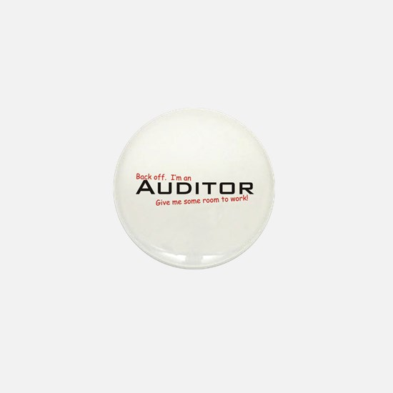 I'm a Auditor Mini Button