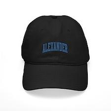Alexander Collegiate Style Name Baseball Hat