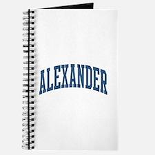 Alexander Collegiate Style Name Journal