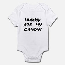MUMMY ATE MY CANDY! Infant Creeper