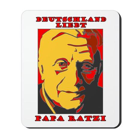Deutschland Liebt Papa Ratzi Mousepad