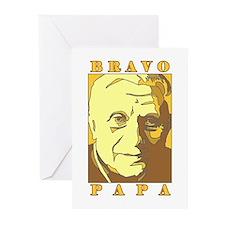 Bravo Papa New Pope Benedict Greeting Cards (Packa