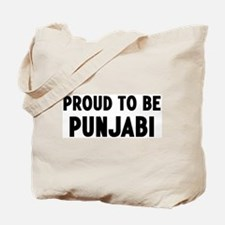 Proud to be Punjabi Tote Bag