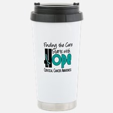 HOPE Cervical Cancer 4 Travel Mug