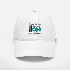 HOPE Cervical Cancer 4 Baseball Baseball Cap