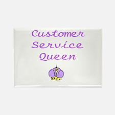 Customer Service Queen Magnets
