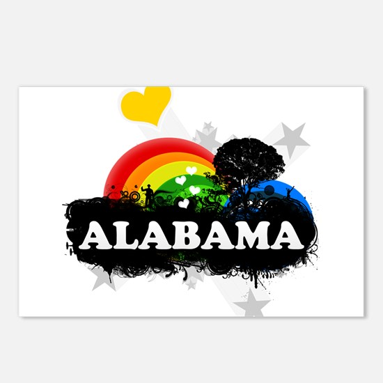 Sweet Fruity Alabama Postcards (Package of 8)