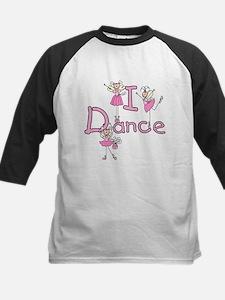 Ballerina I Dance Kids Baseball Jersey