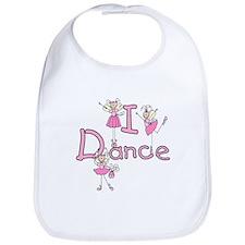 Ballerina I Dance Bib