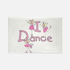 Ballerina I Dance Rectangle Magnet