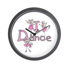 Ballerina I Dance Wall Clock