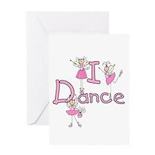 Ballerina I Dance Greeting Card