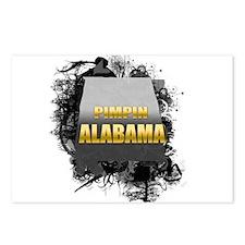 Pimpin' Alabama Postcards (Package of 8)