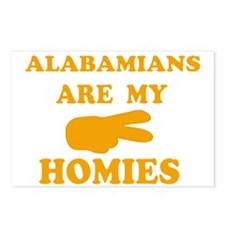Alabamians are my homies Postcards (Package of 8)