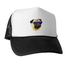 Unique Surf dog Trucker Hat