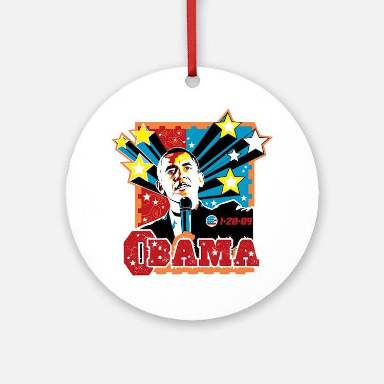 Obama Inaugration Ornament (Round)