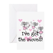 I've Got the Moves Greeting Card