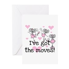I've Got the Moves Greeting Cards (Pk of 10)