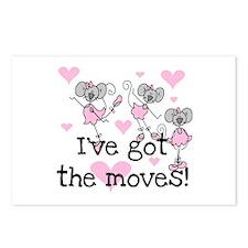 I've Got the Moves Postcards (Package of 8)