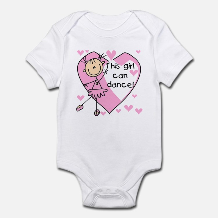 This Girl Can Dance Infant Bodysuit