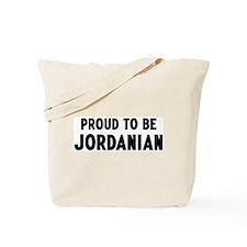 Proud to be Jordanian Tote Bag