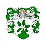 Van Den Brink Coat of Arms Small Poster