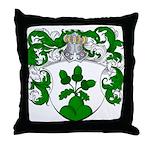 Van Den Brink Coat of Arms Throw Pillow