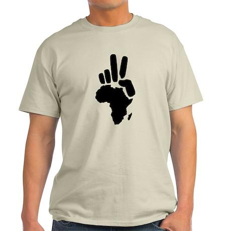 africa darfur peace hand vintage Light T-Shirt