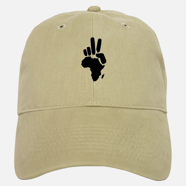 africa darfur peace hand vintage Baseball Baseball Cap