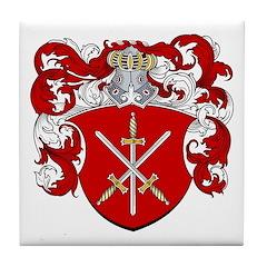 Van Den Broeck Coat of Arms Tile Coaster