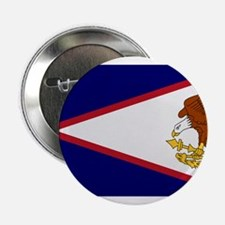 "Beloved American Samoa Flag M 2.25"" Button"
