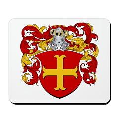 Van Den Dam Coat of Arms Mousepad