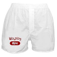 Wolfdog mom Boxer Shorts