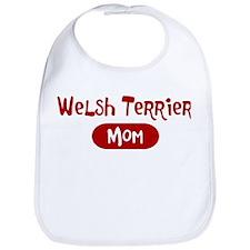 Welsh Terrier mom Bib