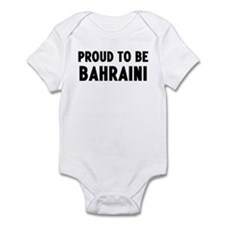 Proud to be Bahraini Infant Bodysuit