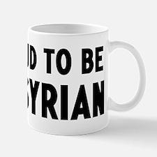 Proud to be Assyrian Small Small Mug